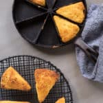 Millet Skillet Cornbread: Cornbread with a Crunch