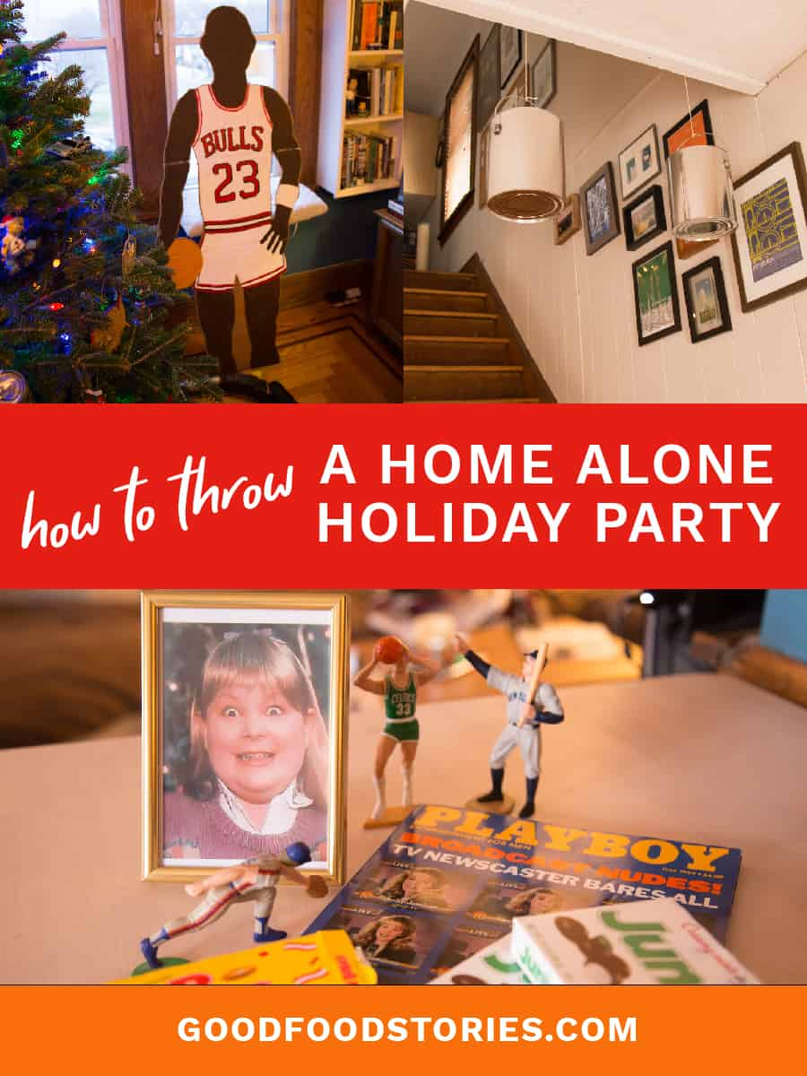 how to throw a home alone holiday party