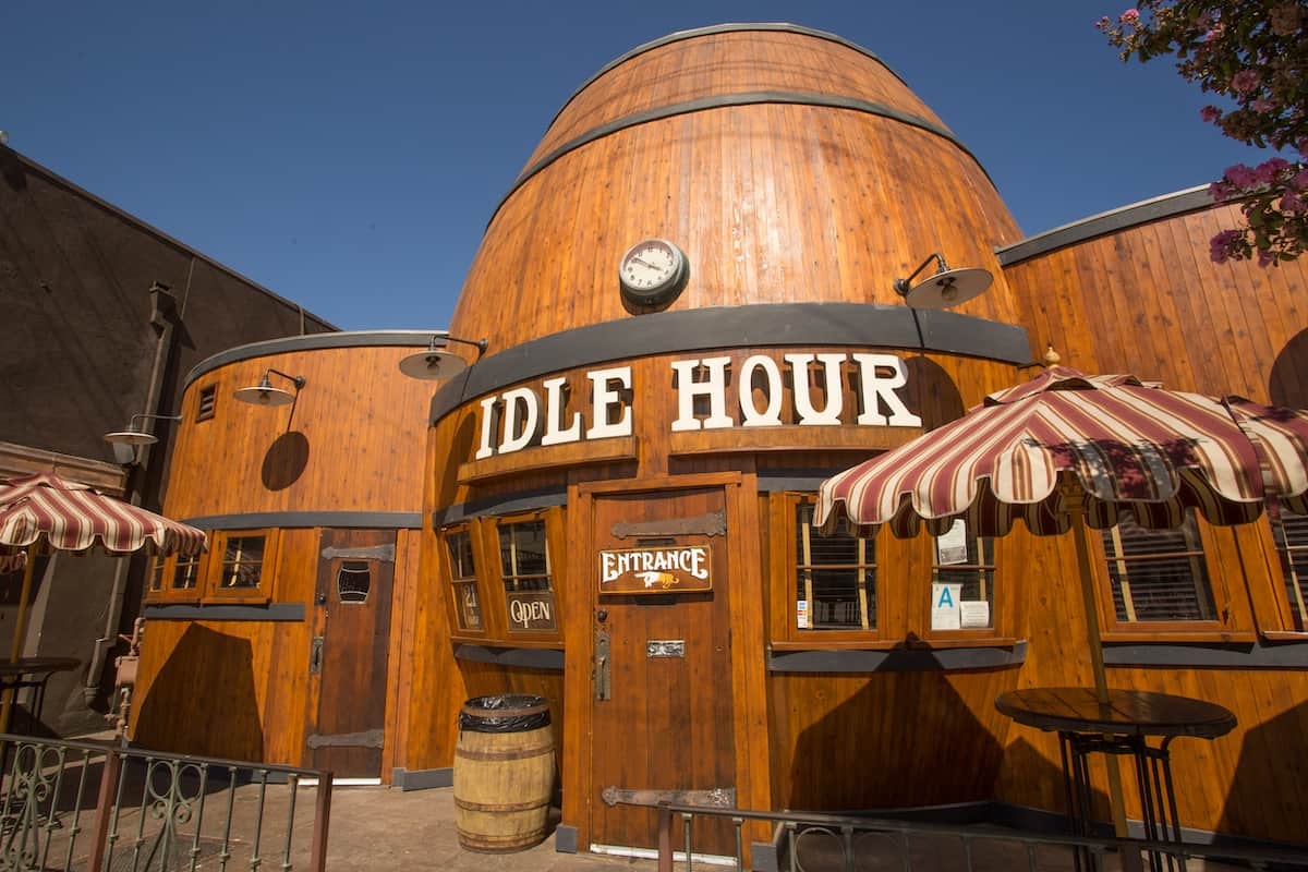 Barrels of Fun (and History) at the Idle Hour in LA