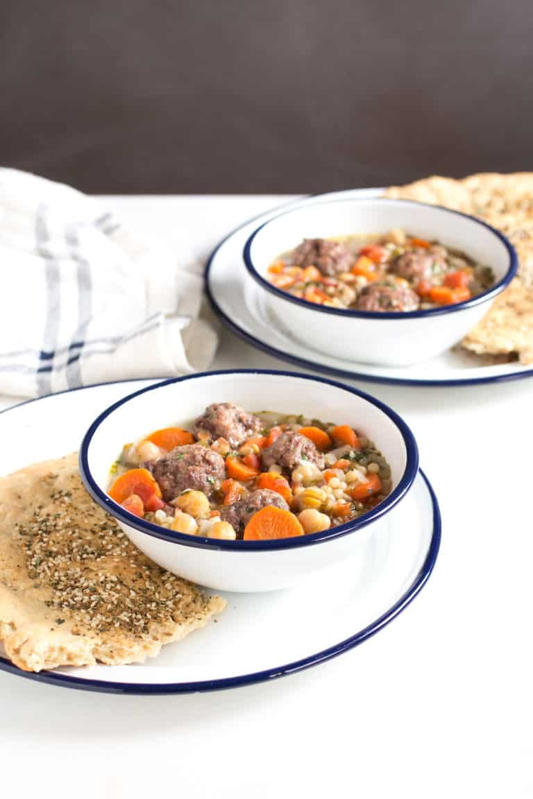 Converting a Reluctant Soup Eater with Meatball Lentil Soup and More