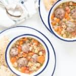 meatball lentil soup