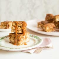 Peanut Caramel Blondies