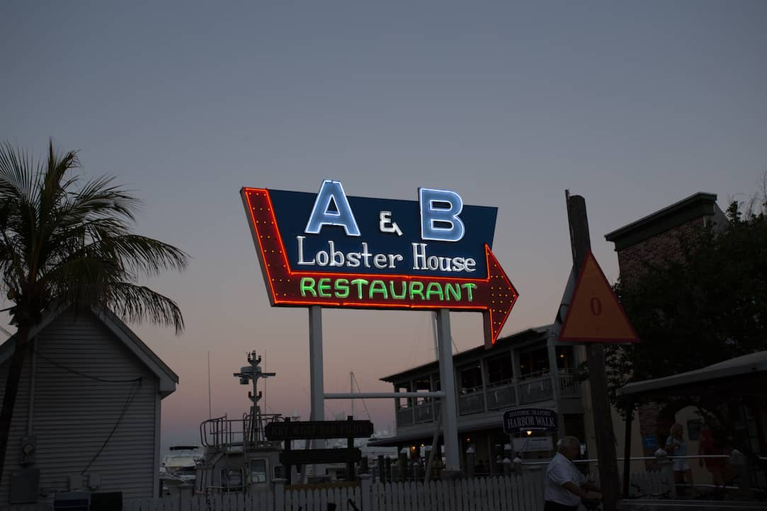 A&B Lobster House in Key West, via www.www.goodfoodstories.com