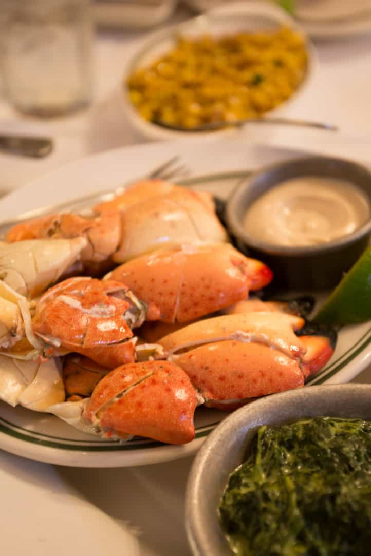 Joe's Stone Crab in Miami, via www.www.goodfoodstories.com