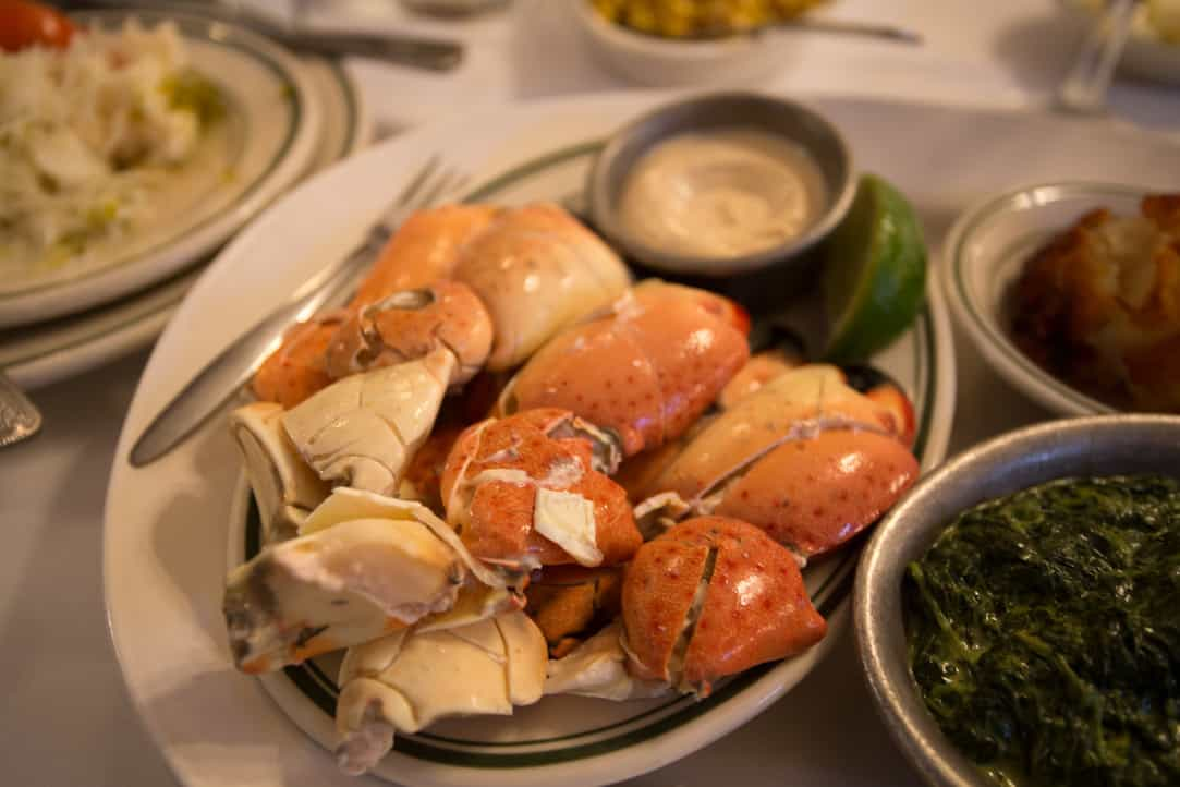 Joe's Stone Crab in Miami, via www.goodfoodstories.com
