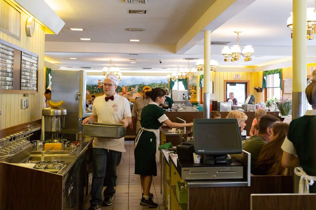 Shady Glen diner in Manchester, CT