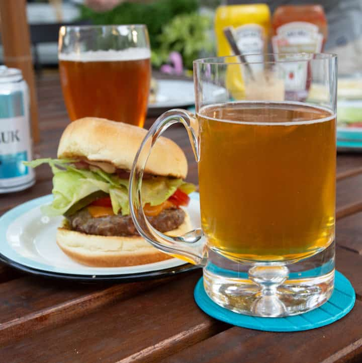 great beers to be drinking outside for a summer party, via goodfoodstories.com