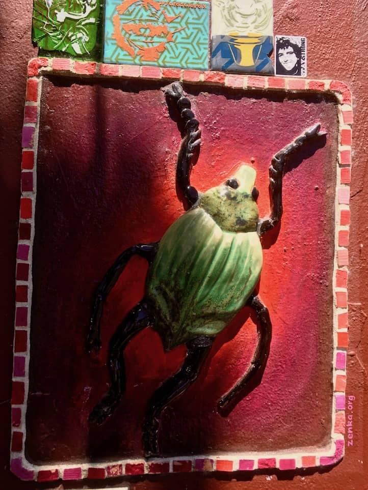 Mississippi Ave. artwork in Portland Oregon, via www.goodfoodstories.com