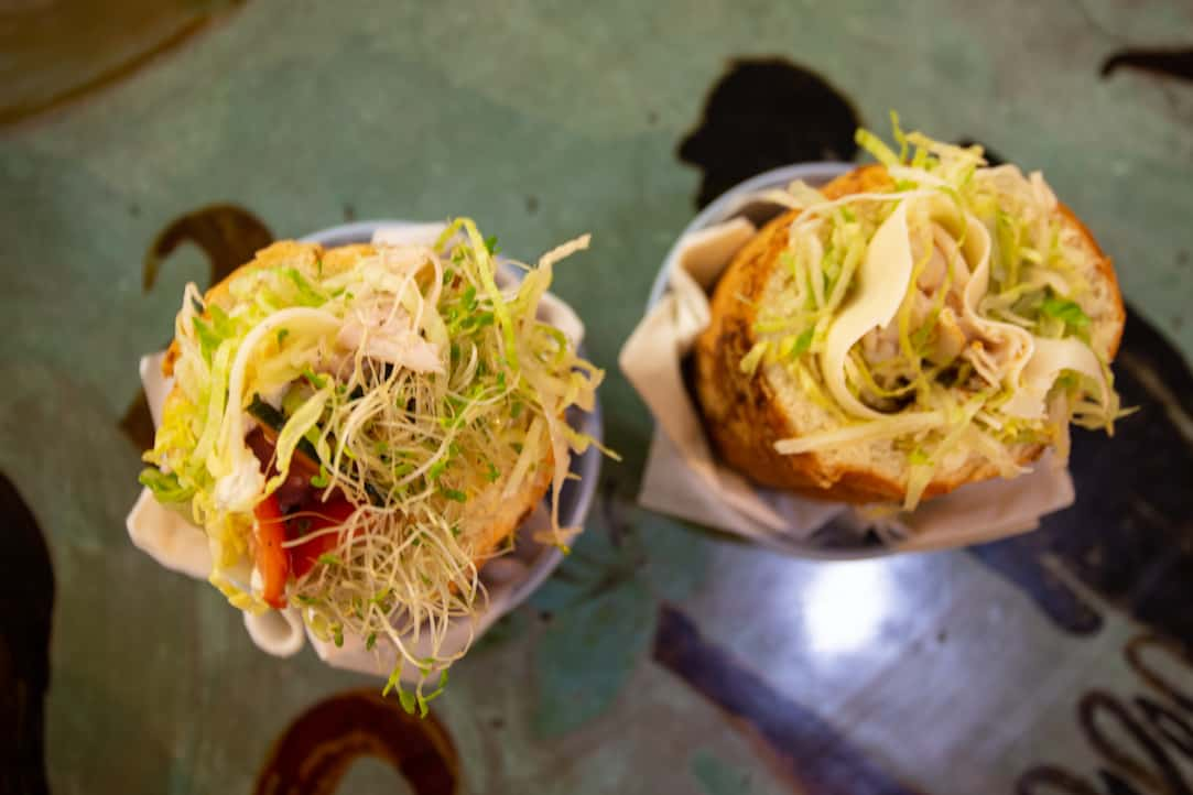 Staggering Ox Clubfoot sandwiches in Helena, MT - via www.goodfoodstories.com