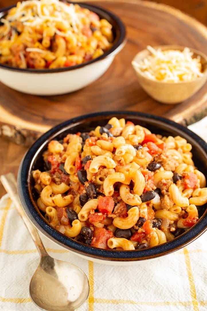 one-pot chili mac, via goodfoodstories.com
