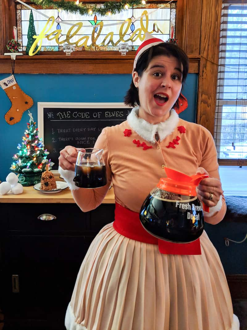 World's Best Cup of Coffee Cocktail for an Elf Holiday Party, via goodfoodstories.com