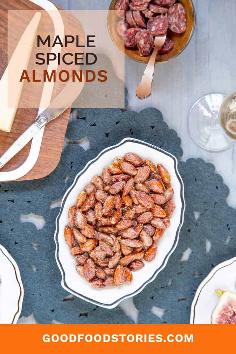maple spiced almonds