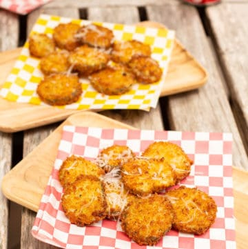 Fried pickles have transcended their Southern provenance to become a bar snack beloved across the U.S. Here's how to make them at home. #friedpickles #gameday #barsnacks #partyfood