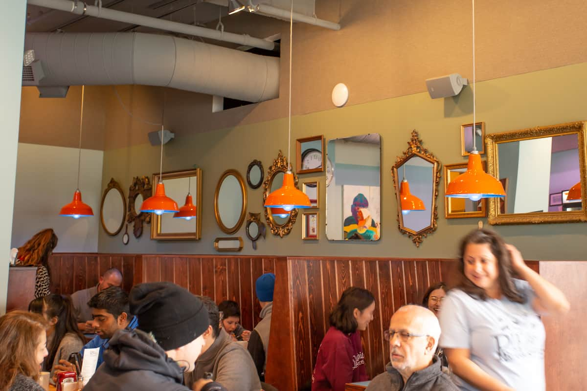 Pittsburgh's Pie for Breakfast is a cheerful breakfast and lunch spot in the Oakland neighborhood.