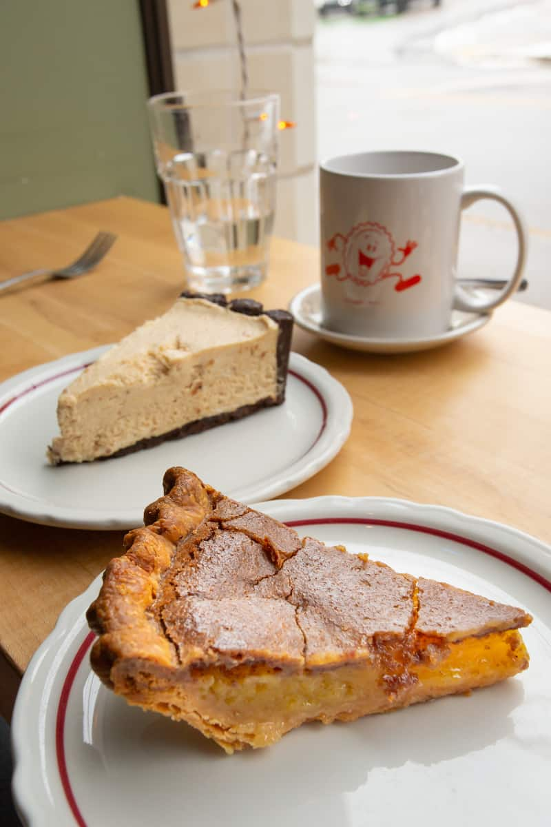 Vinegar pie and peanut butter pie are two of the standouts at Pittsburgh's Pie for Breakfast.