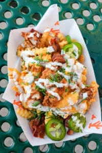 Sweet Chick loaded fries