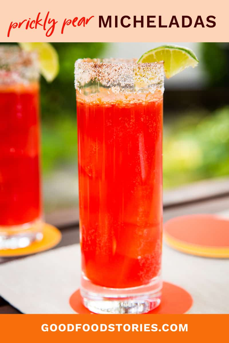 prickly pear micheladas