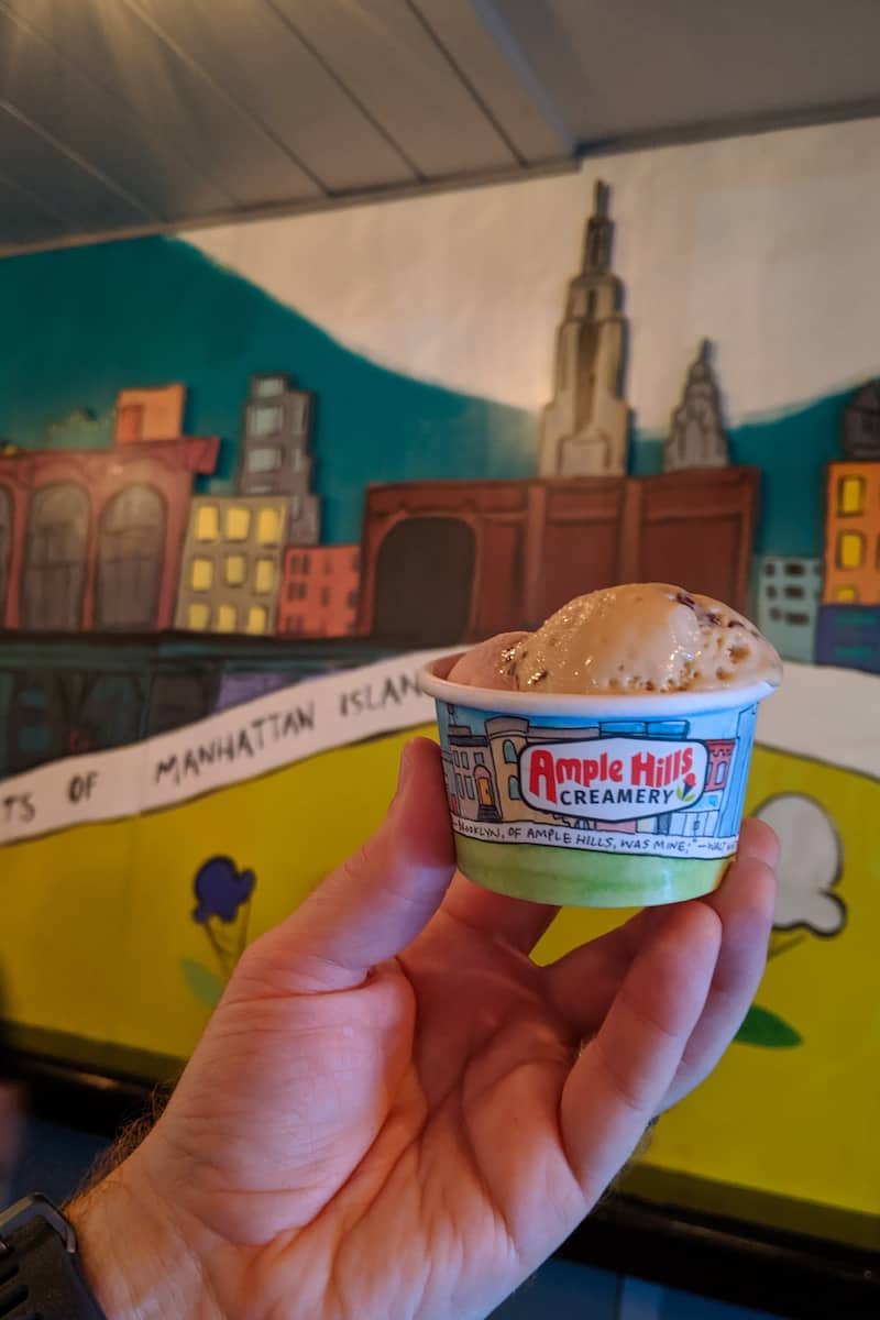 Ample Hills High Line ice cream
