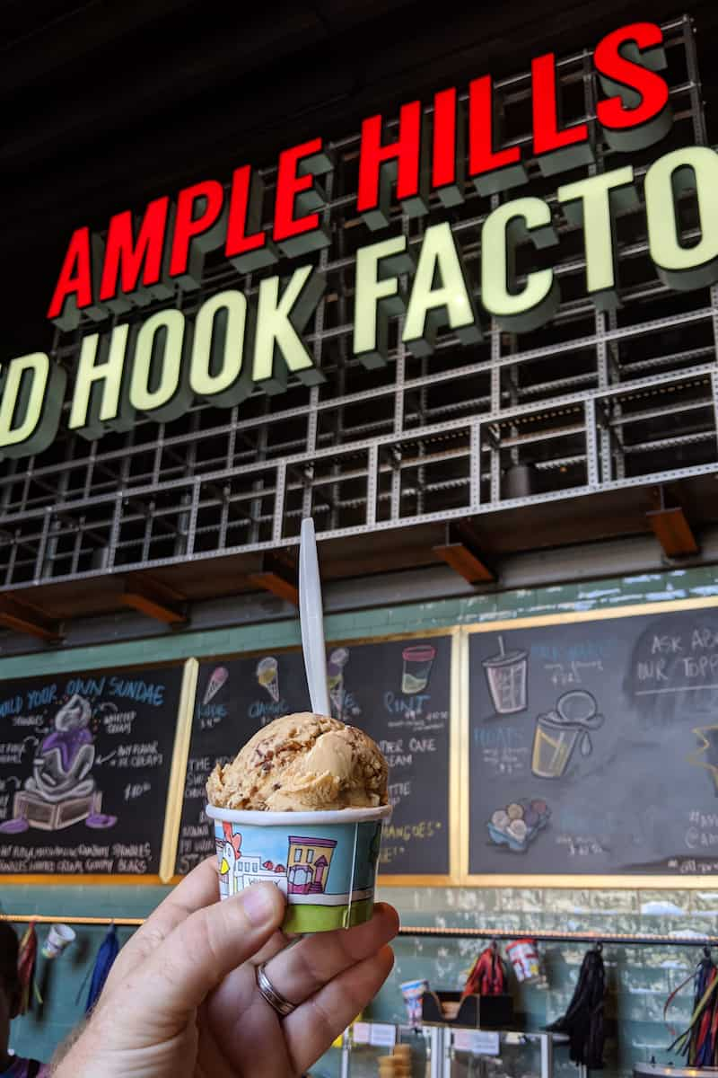 Ample Hills Red Hook ice cream