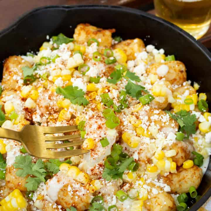 Elote Tater Tots
