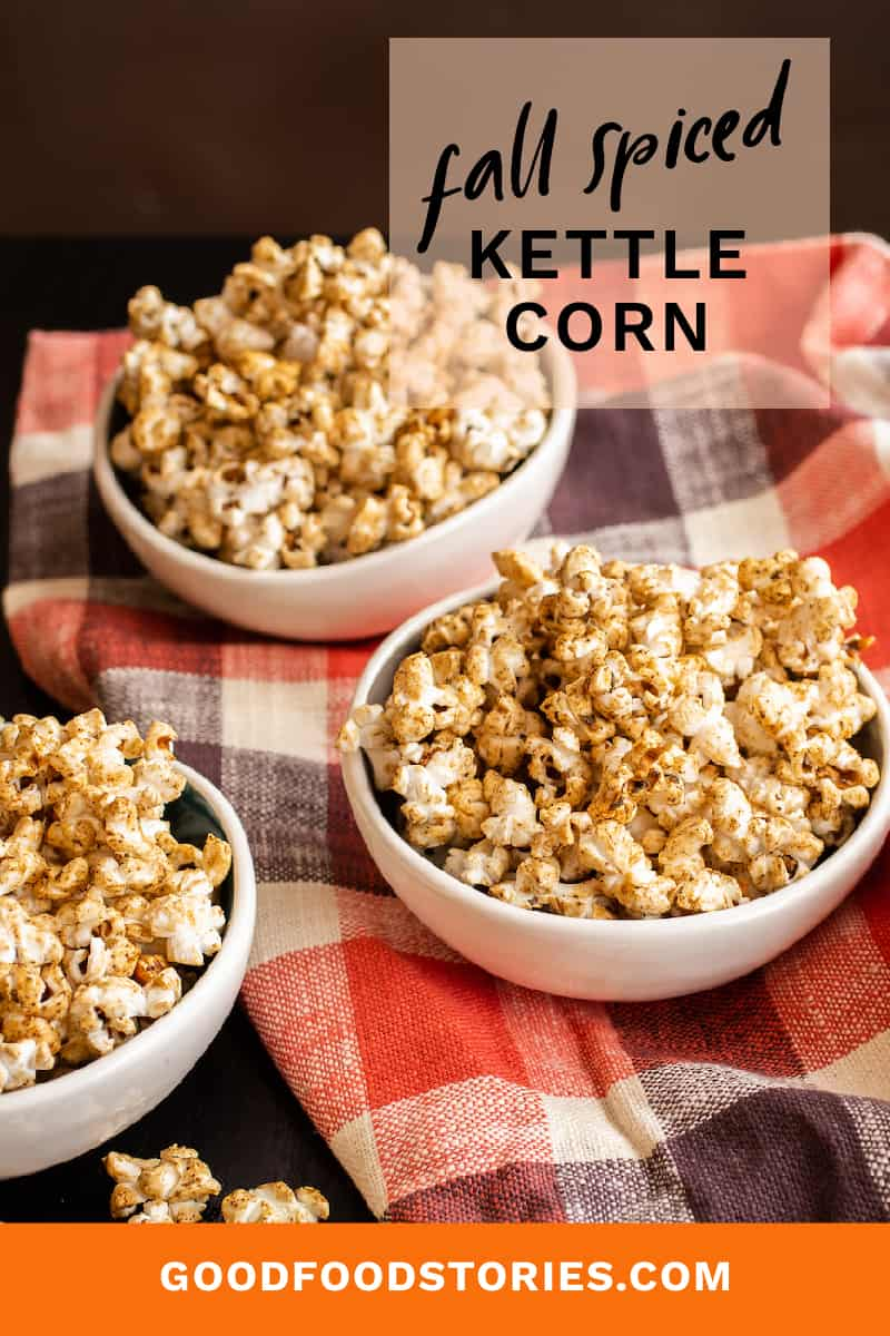 fall spiced kettle corn