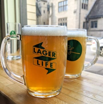 Lorelei lager glasses