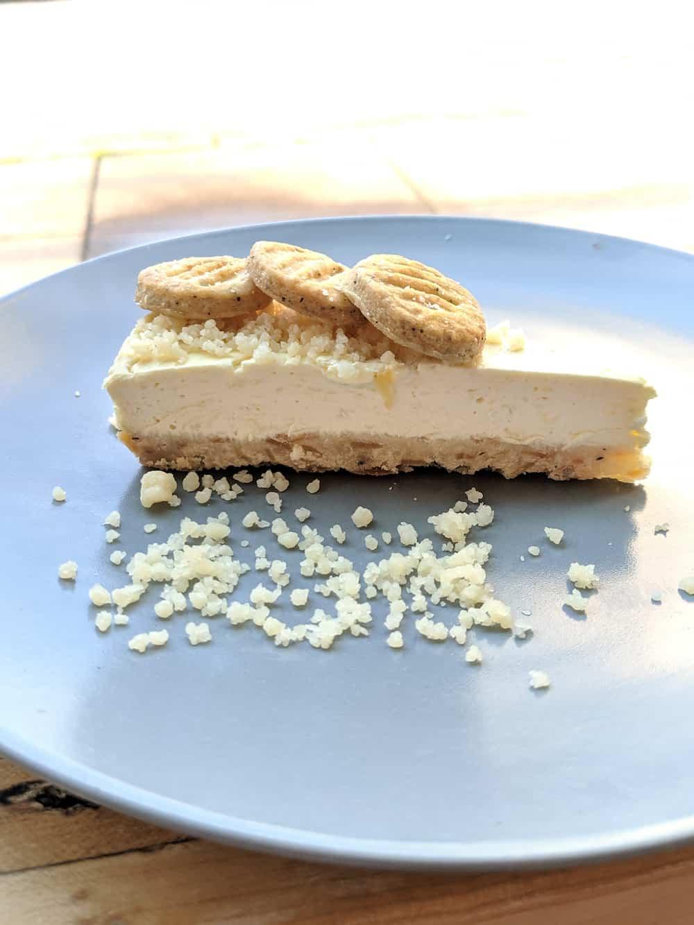 Lorelei Gruyere cheesecake