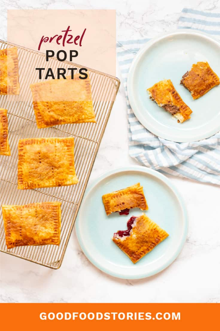 Pretzel pop tarts are easy to make at home and bring smiles to everyone who takes a bite. With flaky crust and sweet filling, they're a nostalgic upgrade. #pretzel #poptarts #homemadesnacks