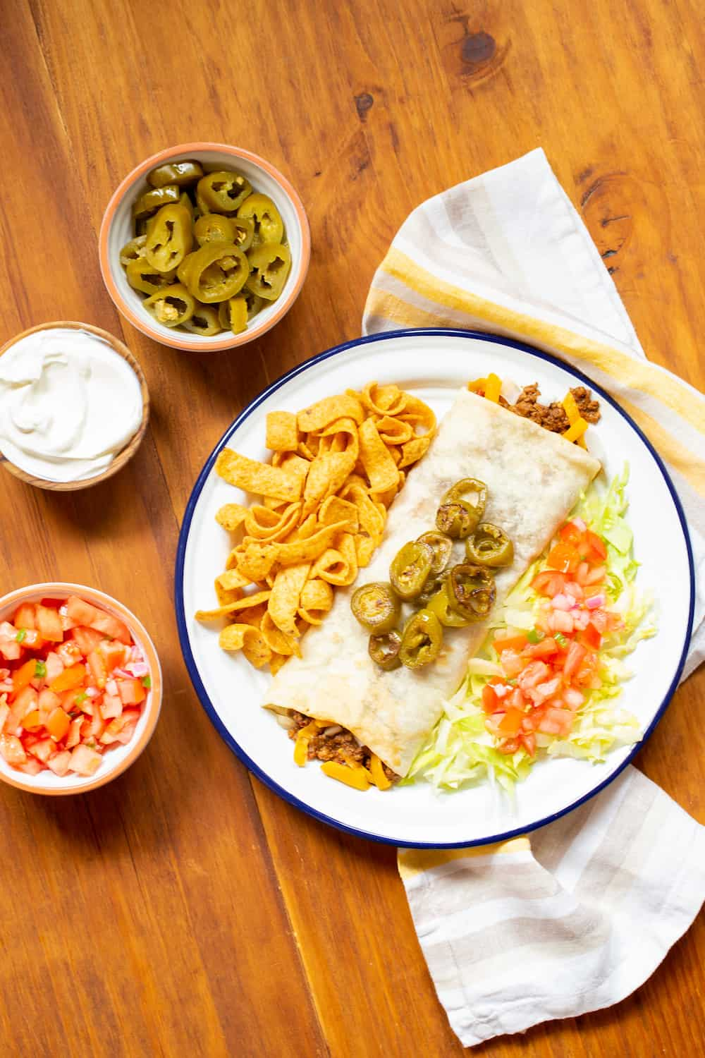 Texas-Style Chili Cheese Burritos from Amarillo