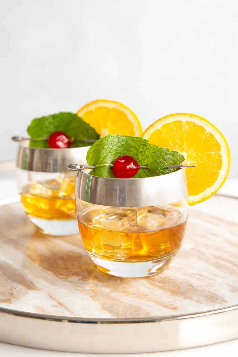The New Fashioned Cocktail: An Old Fashioned with Fresh Mint