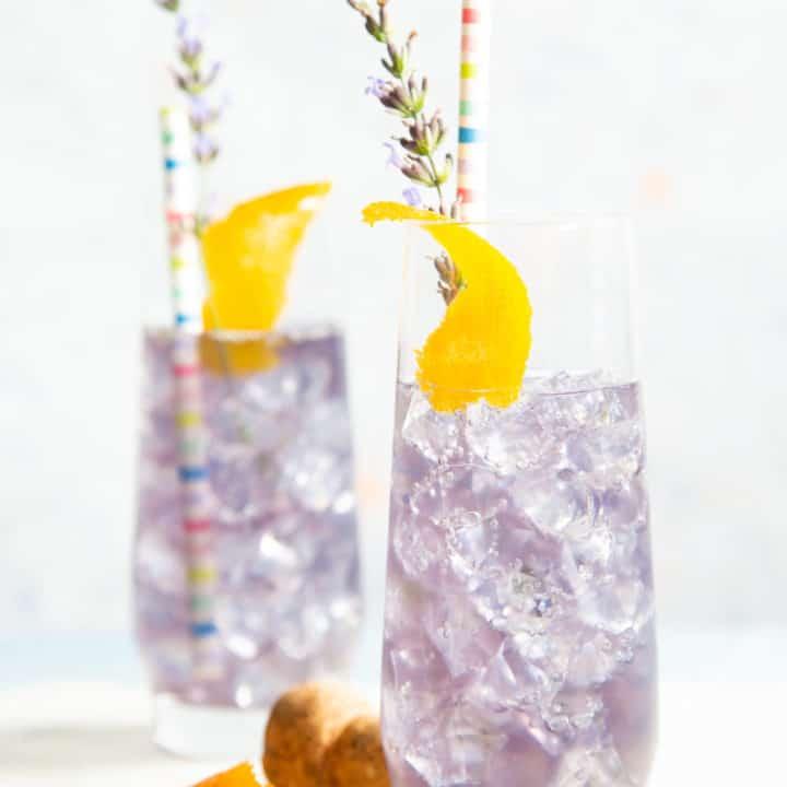 creme de violette spritz