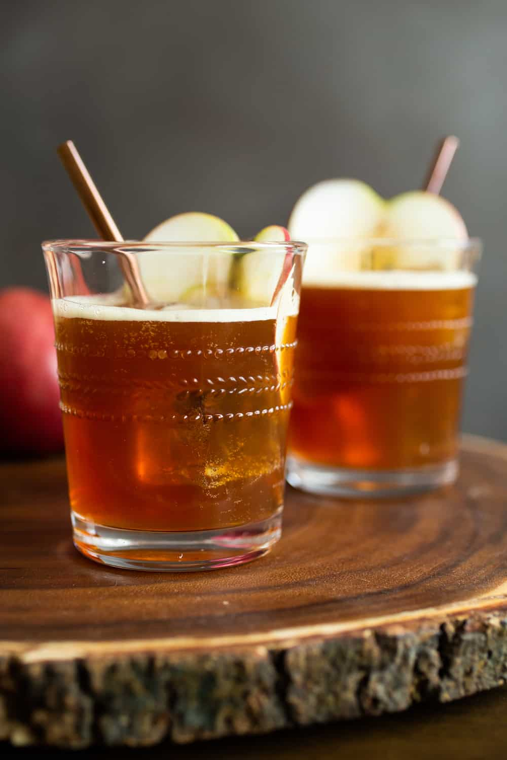 Peanut Apple Cider Cocktail