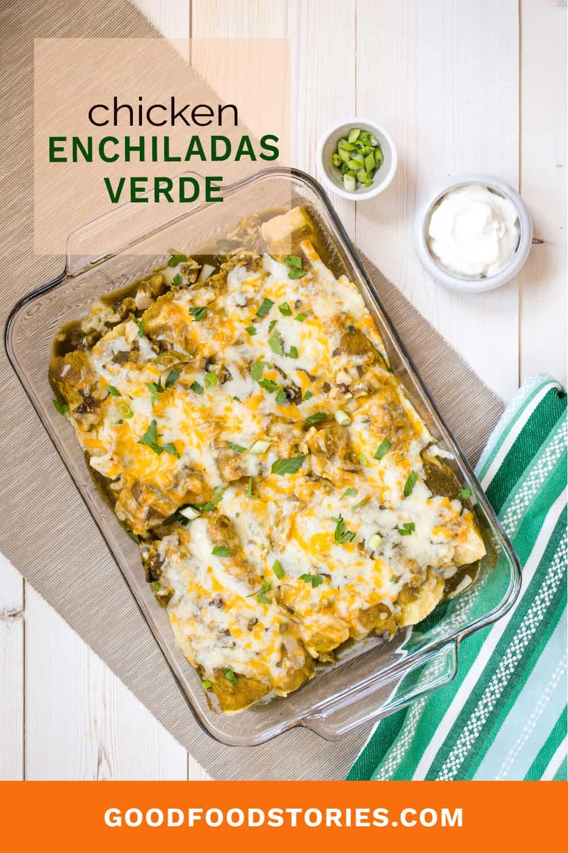 chicken enchiladas verde