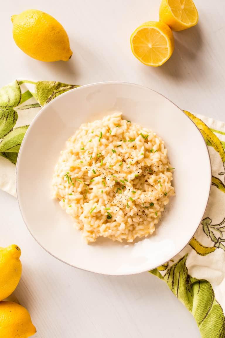 instant pot lemon risotto