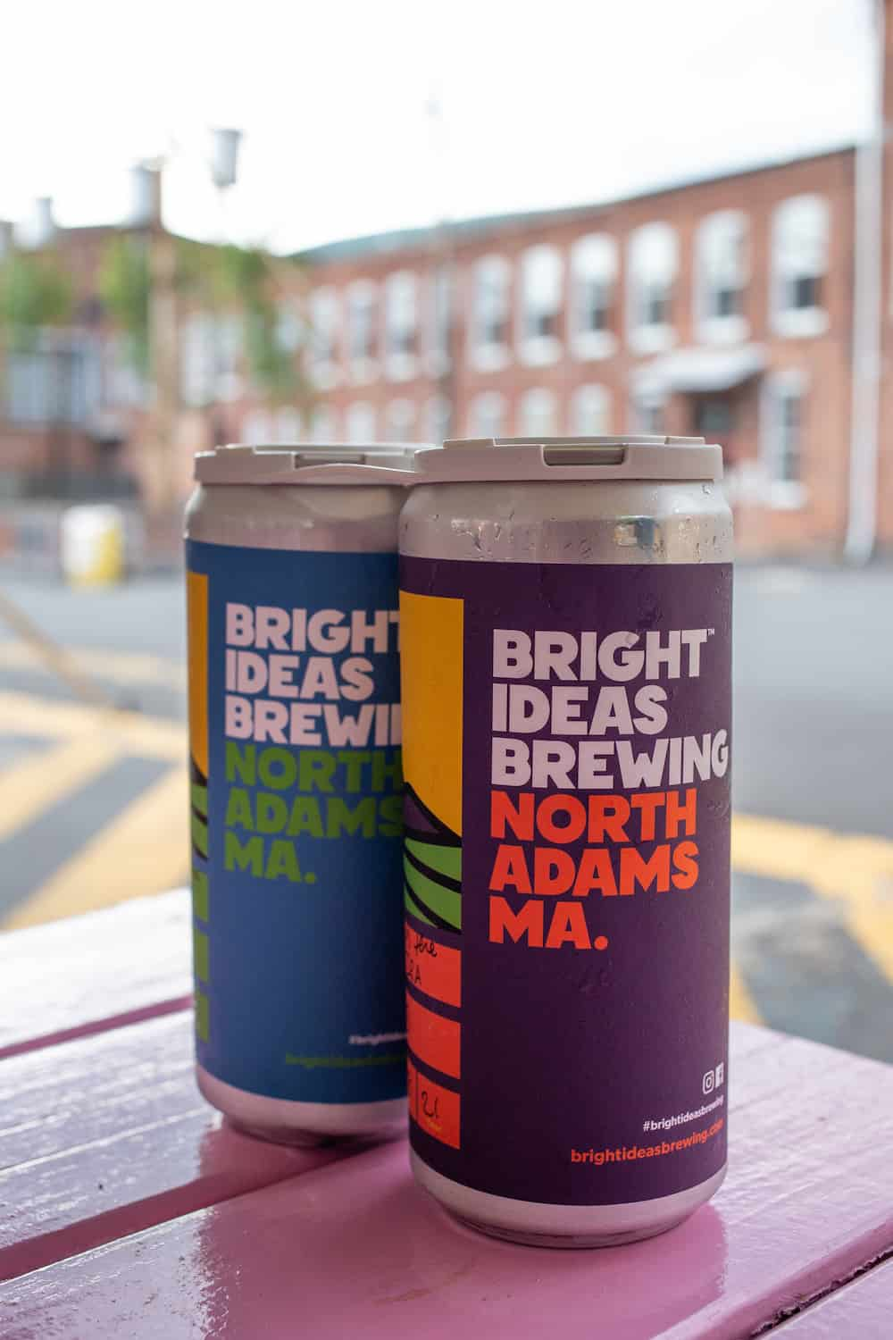 Bright Ideas Brewing crowlers